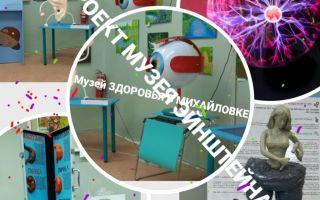 Музей занимательного здоровья в Михайловке