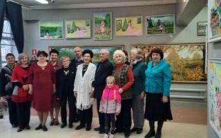 5лет со дня открытия именной галереи художника и поэта Нины Ивановны Арефьевой